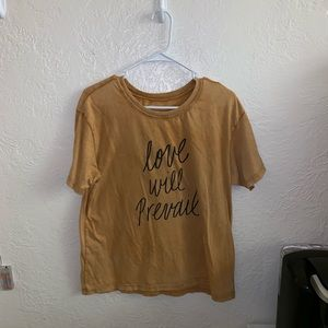 "American Eagle ""Love Will Prevail"" Baggy T-shirt"